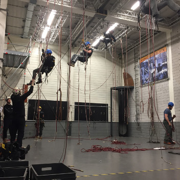 training at height